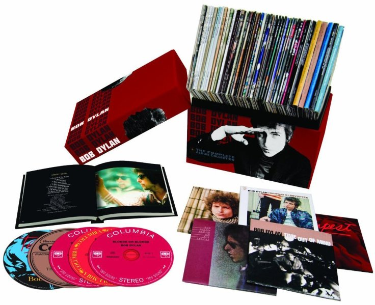 Bob Dylan Complete Albums Collection