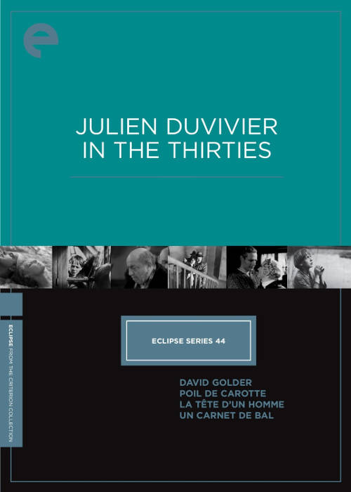 037 Julien Duvivier In The Thirties
