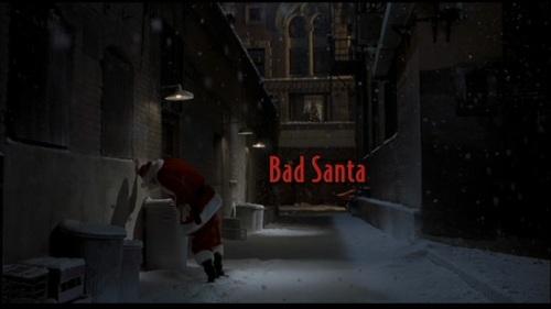 045 Bad Santa Title