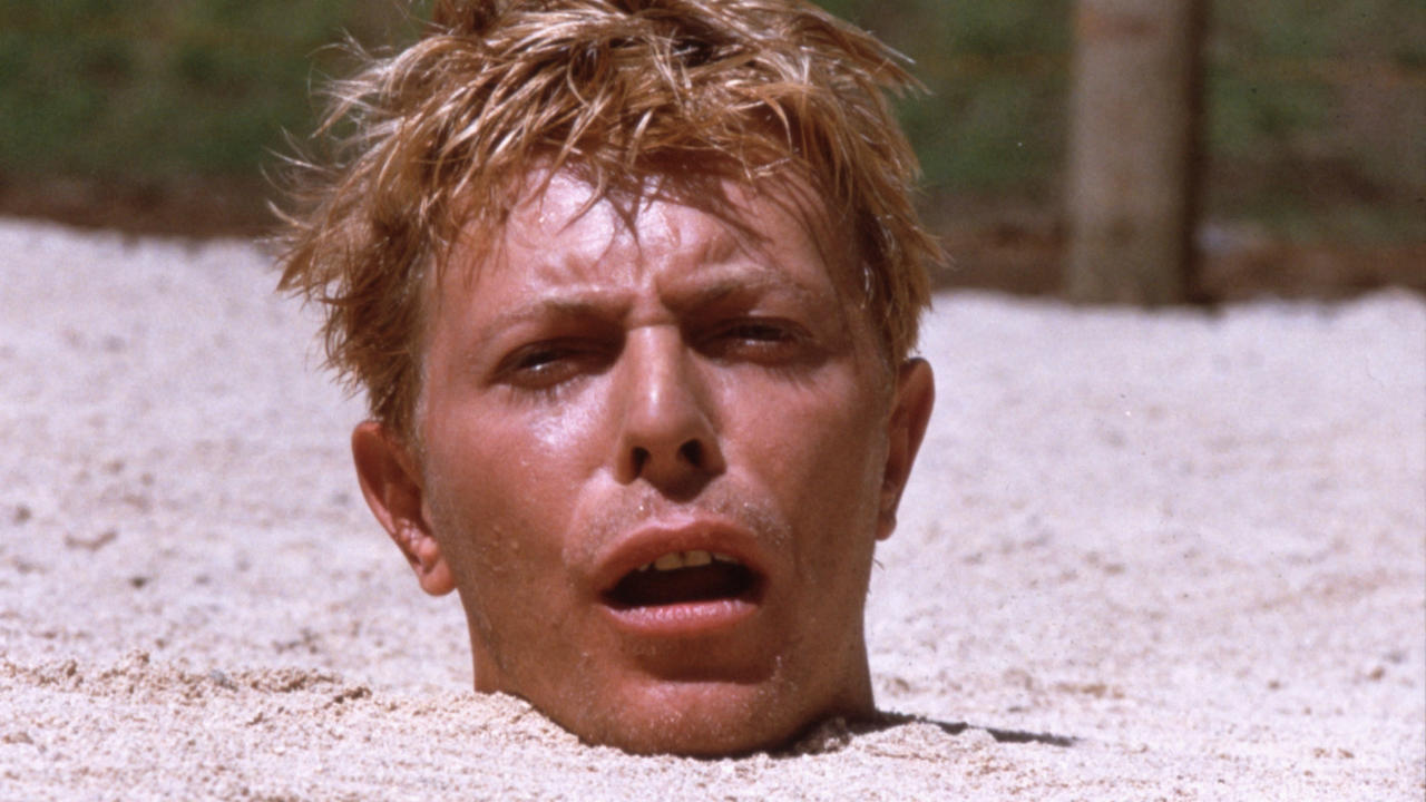 045 merry christmas mr lawrence sand - David Bowie Christmas