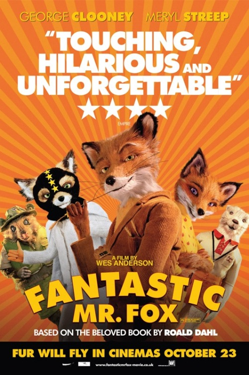 048 Fantastic Mt Fox Poster